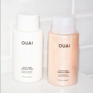 OUAI Thick Shampoo + Conditioner